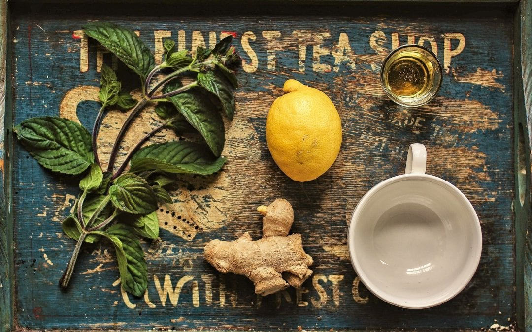 Garlic, Lemon, and Honey Tea